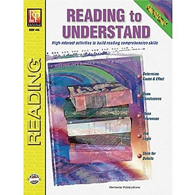 Remedia® Specific Skills Reading To Understand Book, Grades 4th - 8th