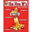 Remedia® The Five W's Book For Reading Level 4, Grades 4th - 12th
