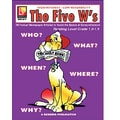 Remedia® The Five W's Book For Reading Level 1, Grades 4th - 12th