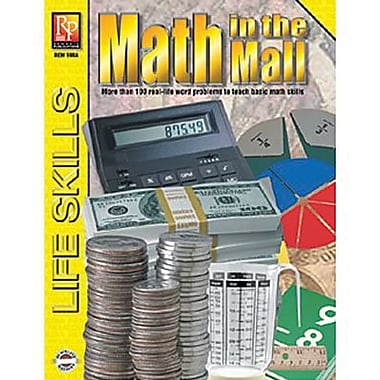 Remedia® Math In The Mall Practical Practice Math Book, Grades 4th - 12th