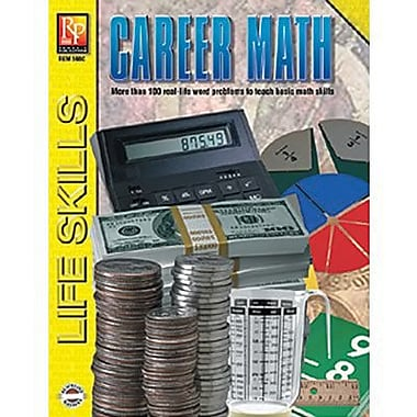 Remedia® Career Math Practical Practice Math Book, Grades 4th - 12th