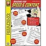 Remedia Reading For Speed And Content Book, Grades