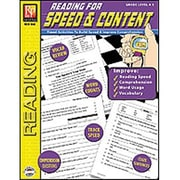 Remedia® Reading For Speed and Content Book, Grades 4th - 5th