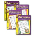 Remedia® 4th/Set Easy Timed Math Drills Book Set, Grades 1st - 3rd