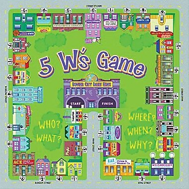 Remedia® Level A 5 W's Game, Grades 1st - 5th