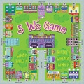 Remedia® Level B 5 W's Game, Grades 3rd - 5th