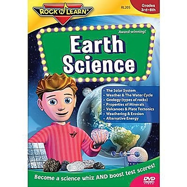 Rock 'N Learn® Taking Strategies Educational DVD, Earth Science