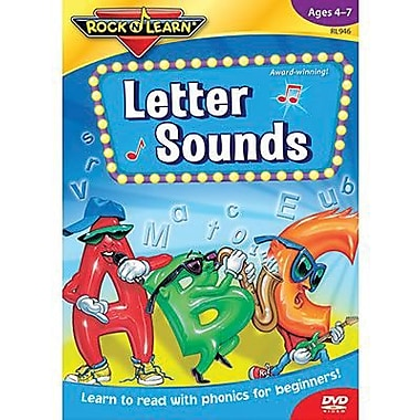 Rock 'N Learn® Educational DVD, Letter Sounds