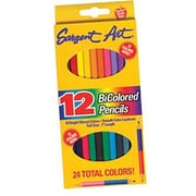 "Sargent Art® 7"" Bi-Colored Pencil, Assorted, 24/Box"