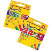 "Sargent Art® 3 1/2"" Colored Pencil, Assorted, 24/Box"