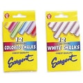 Sargent Art® 31/4in. Board Chalk, Assorted