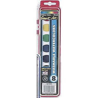 Sargent Art® Art-Time® Semi-Moist Watercolor Set, Assorted