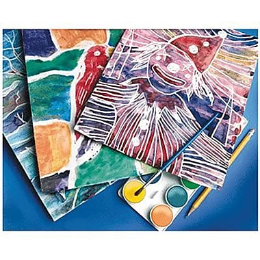 Scratch Art® 11in. x 8 1/2in. BATEEK-O® Craft Paper