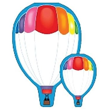 Shapes Etc™ 7in. x 5in., Large Die Cut Note Pad, Hot Air Balloon