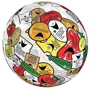 American Educational Products® Food/Nutrition Clever Catch Ball