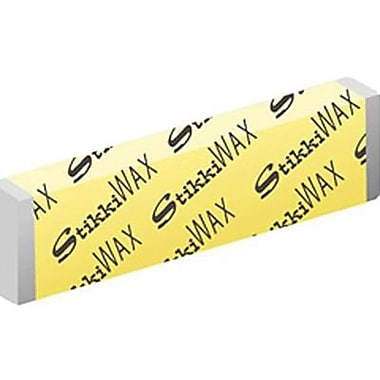 StikkiWorks® Colorless Reusable Adhesive Stikkiwax, 6/Pack