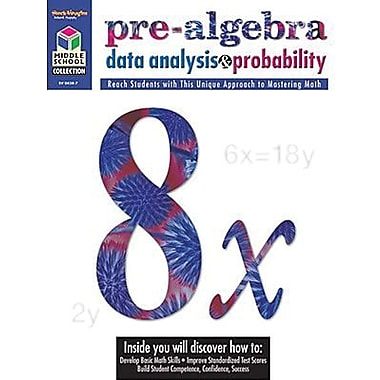 Houghton Mifflin® Math Student Edition Pre-Algebra Book, Grades 5th - 8th