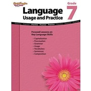 Houghton Mifflin Harcourt Language Usage and Practice Book, Grades 7th