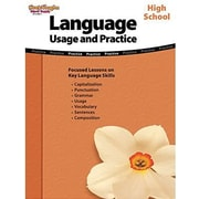Houghton Mifflin Harcourt Language Usage and Practice Book, Grades 9th - 12th