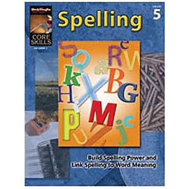 Houghton Mifflin® Core Skills Spelling Book, Grades 5th