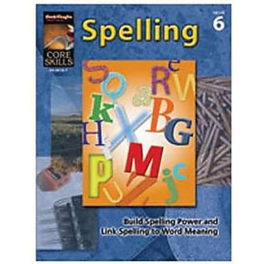 Houghton Mifflin® Core Skills Spelling Book, Grades 6th