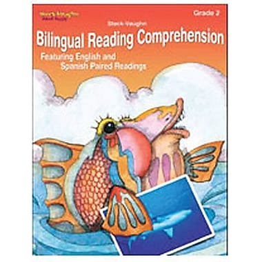 Houghton Mifflin® Bilingual Reading Comprehension Book, Grades 2nd