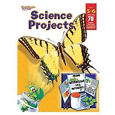 Houghton Mifflin® Student Edition Science Projects Book, Grades 5th - 6th
