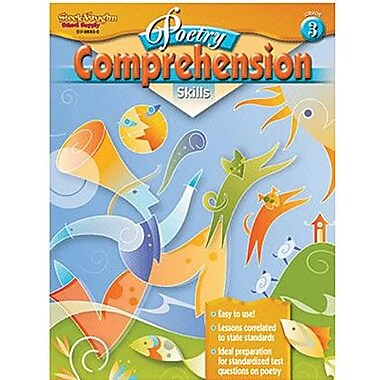 Houghton Mifflin® Poetry Comprehension Skills Book, Grades 3rd