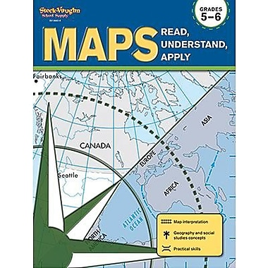 Houghton Mifflin® Maps Read, Understand, Apply Student Edition Book, Grades 5th