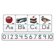 Trend Enterprises® Bulletin Board Set, Photo Alphabet, Zaner-Bloser Manuscript