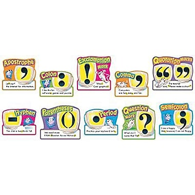 Trend Enterprises® Bulletin Board Set, Punctuation