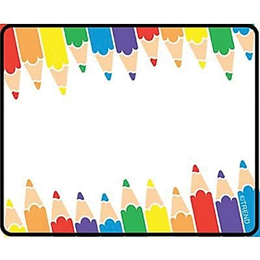 Trend Enterprises® 2nd - 9th Grades Name Tag, Colored Pencil