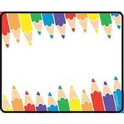 Trend Enterprises® 2nd - 9th Grades Name Tag, Colored Pencil