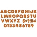 Trend Enterprises® 4in. Orange Sparkle Uppercase Letter, Grades Pre Kindergarten - 9th