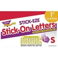 Trend Enterprises® STICK-EZE® Letter, Number and Mark Set, 1in., Red