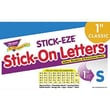 Trend Enterprises® STICK-EZE® Letter, Number and Mark Set, 1in., Blue