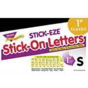 "Trend Enterprises® STICK-EZE® Letter, Number and Mark Set, 1"", Black"