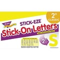 Trend Enterprises® STICK-EZE® 2in. Letter and Mark Set, Yellow