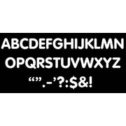 Trend Enterprises® STICK-EZE® 2 Letter and Mark Set, White