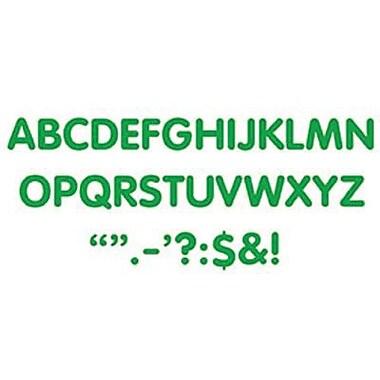 Trend Enterprises® STICK-EZE® 2in. Letter and Mark Set, Green