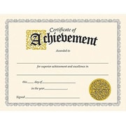 "Trend Enterprises® Certificate of Achievement, 8 1/2""(L) x 11""(W), Grades 1st - 9th"