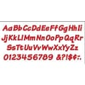 Trend Enterprises® 4in. Uppercase/Lowercase Italic Combo Ready Letter, Red