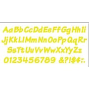 Trend Enterprises® 4 Uppercase/Lowercase Italic Combo Ready Letter,Yellow