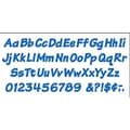 Trend Enterprises® 4in. Uppercase/Lowercase Italic Combo Ready Letter, Blue