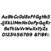 "Trend Enterprises® 4"" Uppercase/Lowercase Italic Combo Ready Letter, Black"
