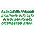 Trend Enterprises® 4in. Uppercase/Lowercase Italic Combo Ready Letter, Green