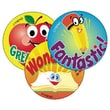 Trend Enterprises® Stinky Stickers, School Time/Apple