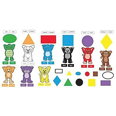 Trend Enterprises® Bulletin Board Set, Colors and Shapes (ENG/SP)