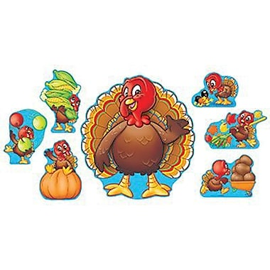 Trend Enterprises® Bulletin Board Set, Turkey Time