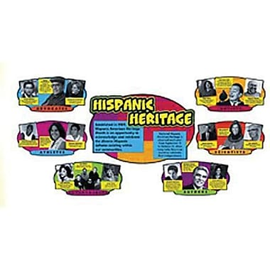 Trend Enterprises® Bulletin Board Set, Hispanic Heritage